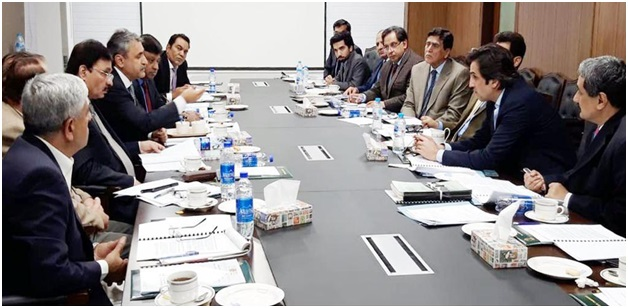 CAP Delegation Meeting with Federal Minister held on 05 December, 2018,