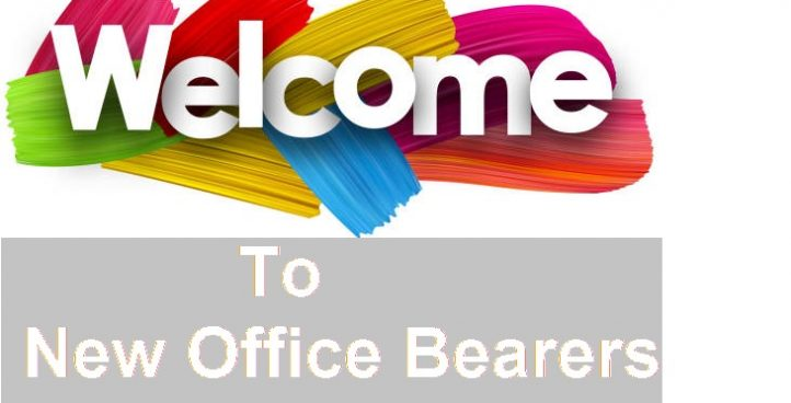 Welcome to New CAP Office Bearers